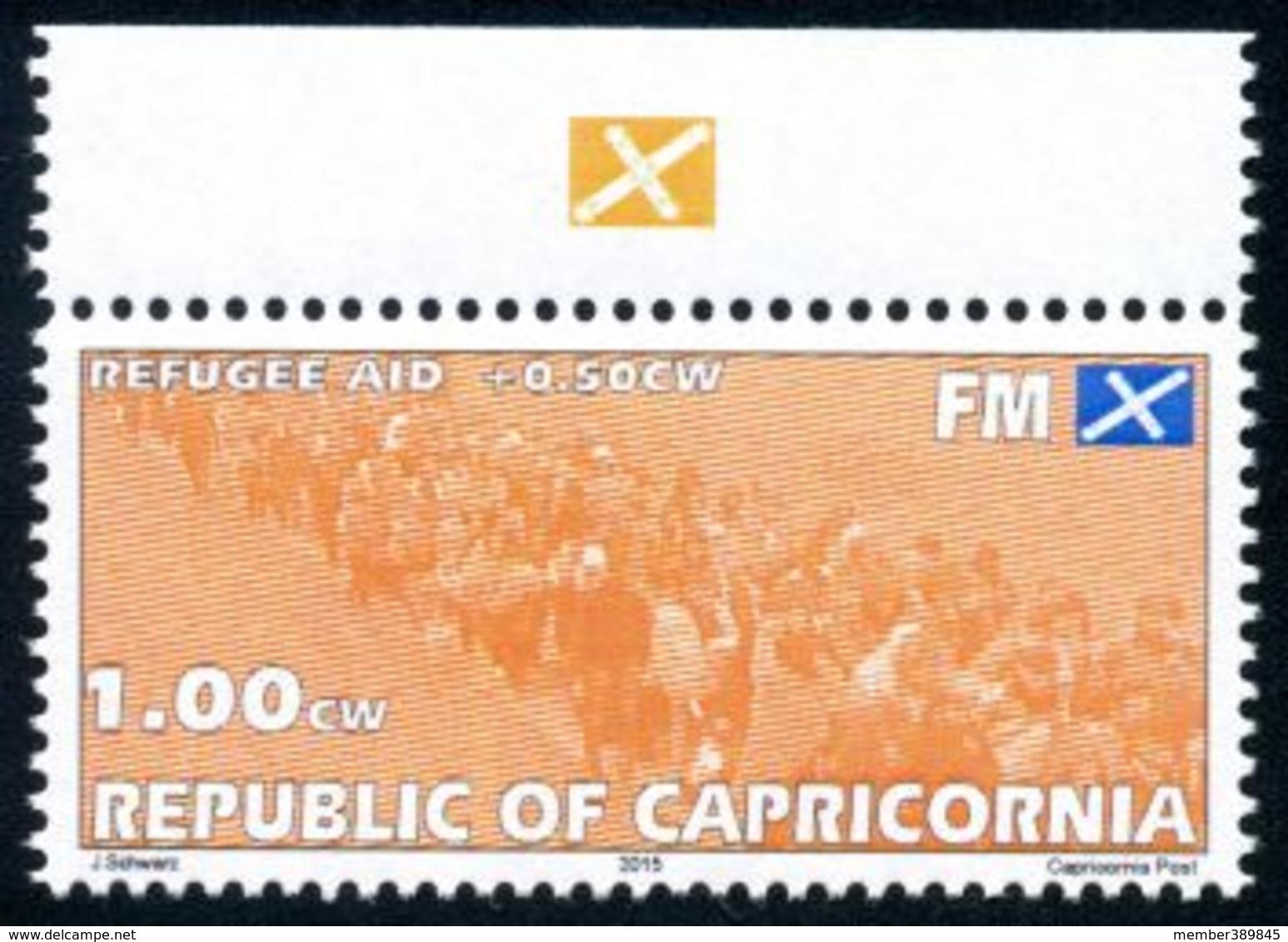 CAPRICORNIA - Micronation - 2015 - Refugee Aid - Mint Never Hinged - Zonder Classificatie
