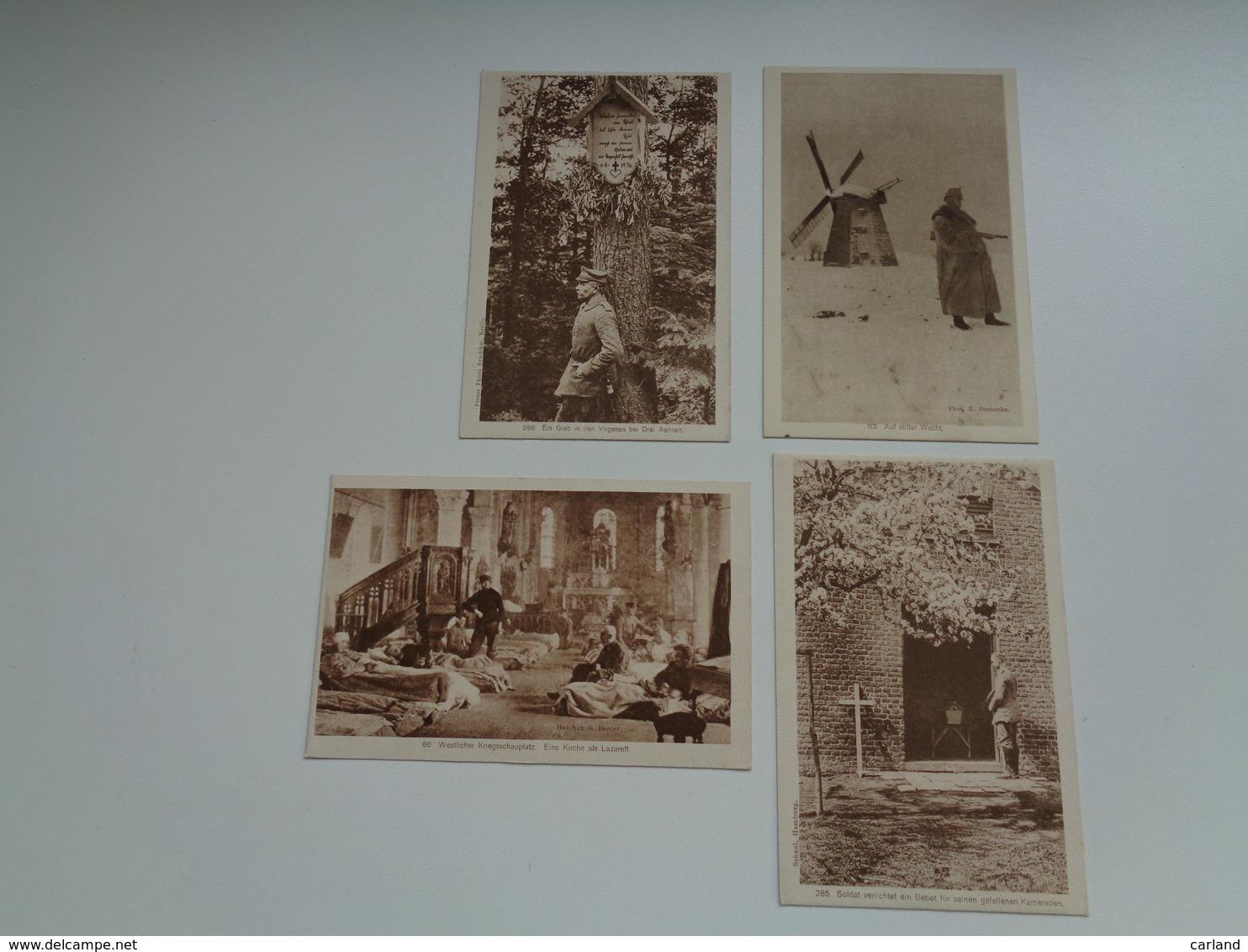 Beau Lot De 20 Cartes Postales Guerre 1914 - 1918  Armée  Soldat Allemand - Oorlog Leger Duitse ( Deutsche ) Soldaten - 5 - 99 Karten