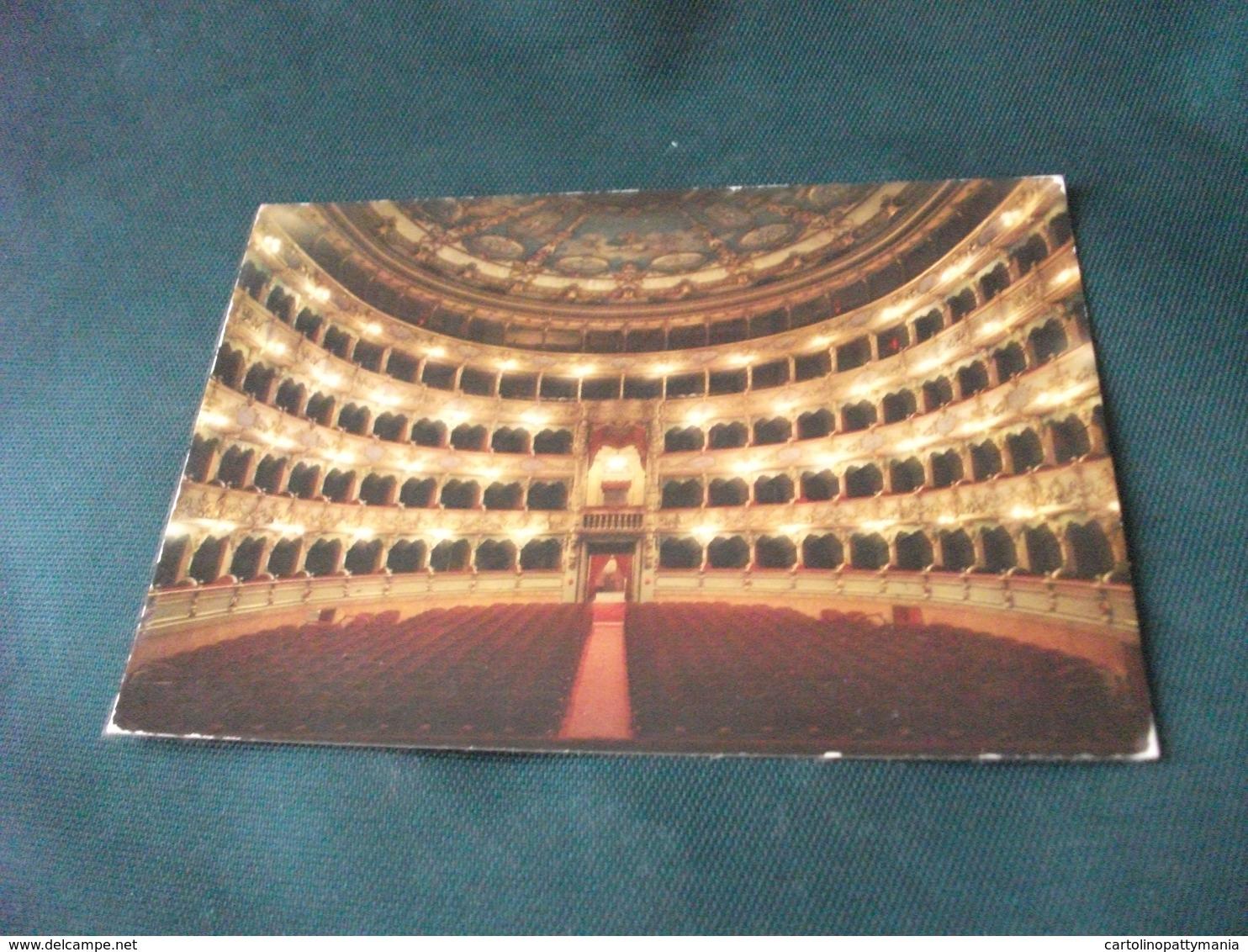 TEATRO THEATER THÉÂTRE TEATTERI   INTERNO DEL TEATRO GRANDE BRESCIA - Teatro