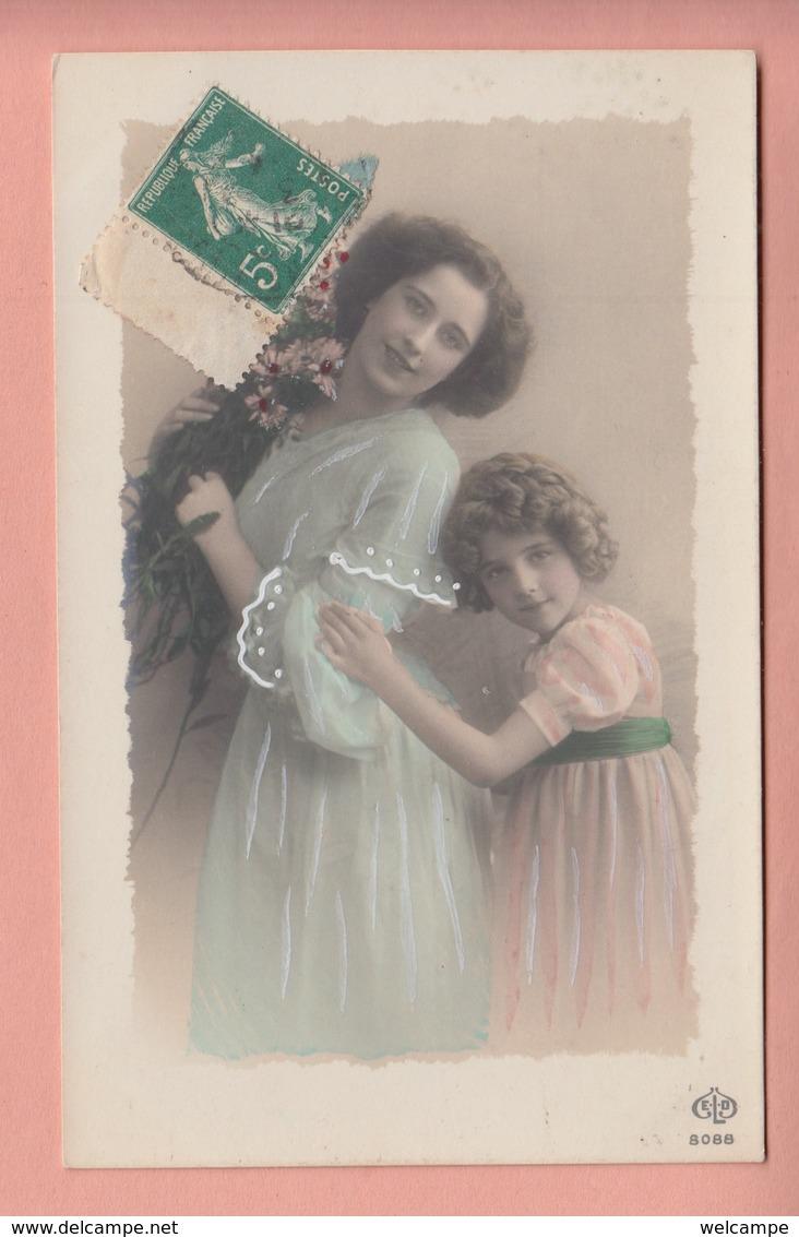 OLD PHOTO POSTCARD - CHILDREN - GIRL - FAMOUS GRETE REINWALD - Abbildungen