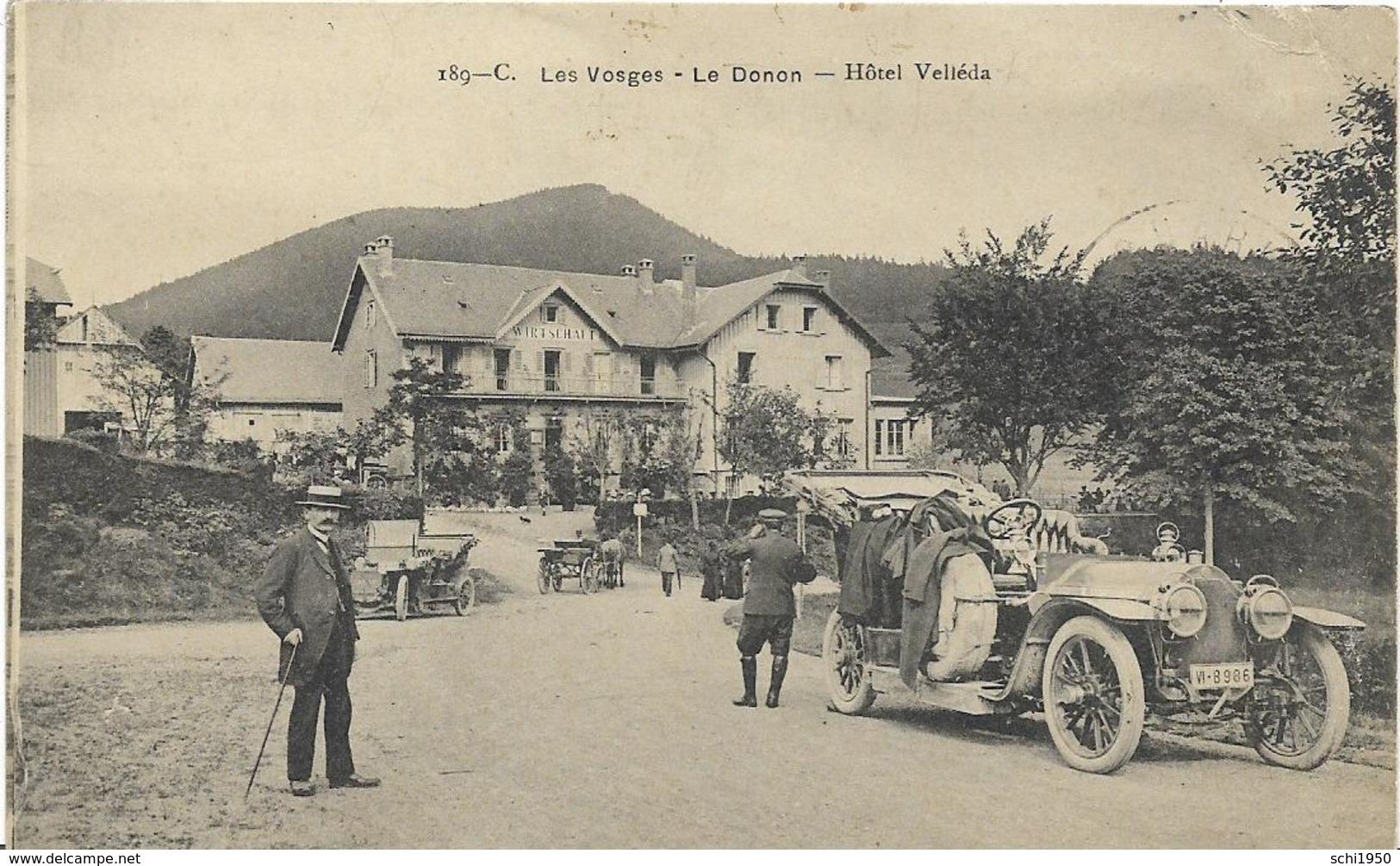 ~  JP  ~  88   ~    LE DONON   ~   Hotel  Velleda   ~ - Autres Communes