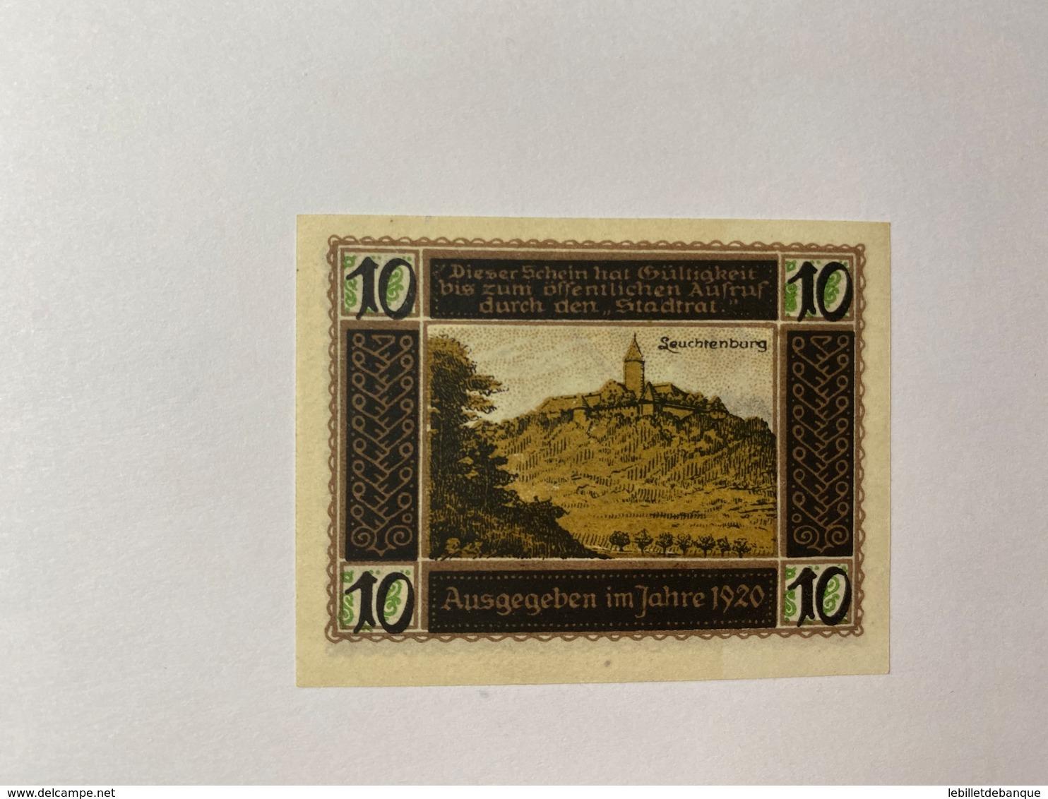 Allemagne Notgeld Khala 10 Pfennig - [ 3] 1918-1933 : République De Weimar