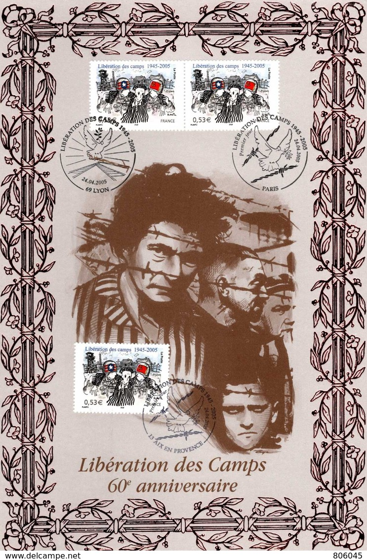 2005 60° Anniversaire De La Libération Des Camps - WO2