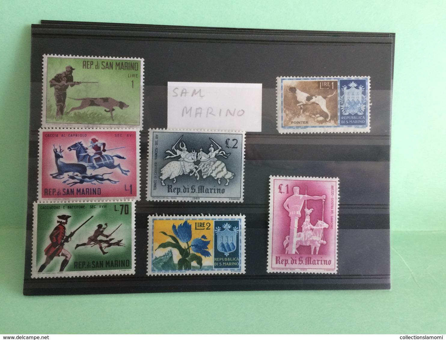 Lot Timbres Neufs, Monde Afrique,Amérique,Asie,Europe,Pays Voir Photos (n°12) - Collections (sans Albums)