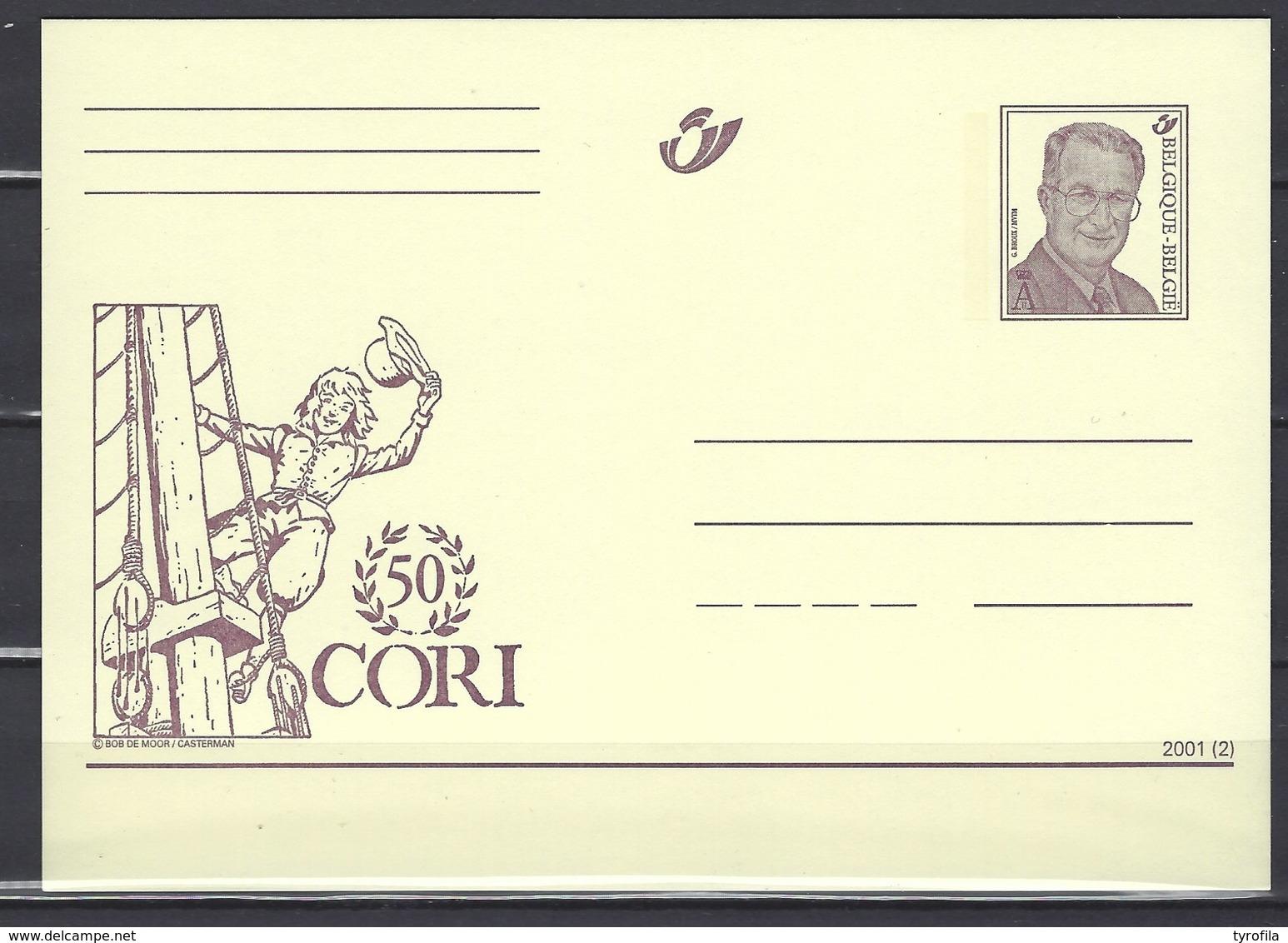 België    Postkaarten   Stripfiguren    Cori - Postales [1951-..]