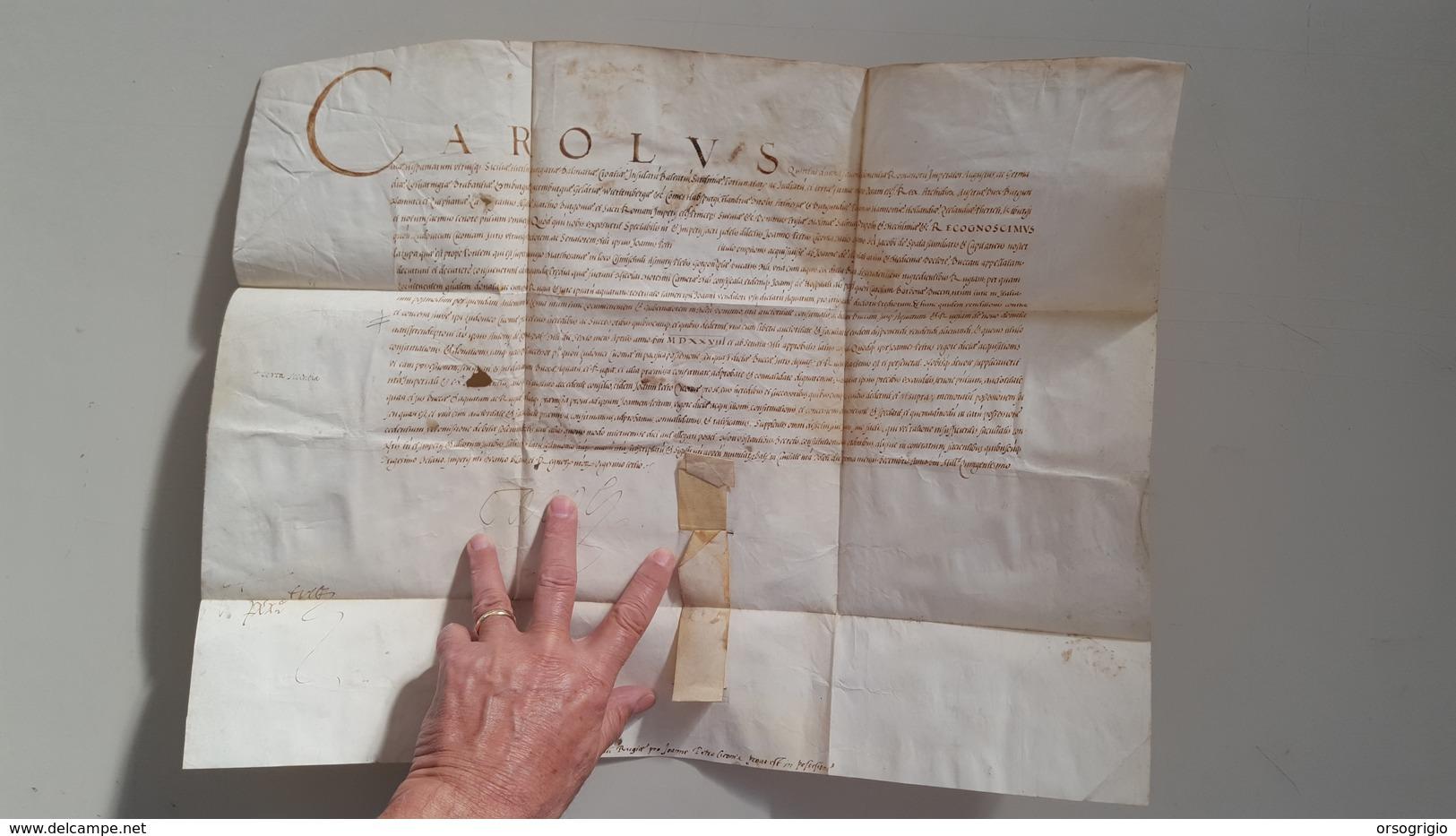 MANOSCRITTO  CAROLUS - Manuscrits