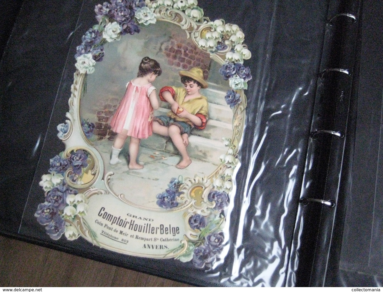 SCRAPS Van Vóór 1900, Alle Maten In 19 Mappen +7 Mappen RECLAME 20cmX15cm +10 Albums De Collection 1880 à 1890 Relief - Other