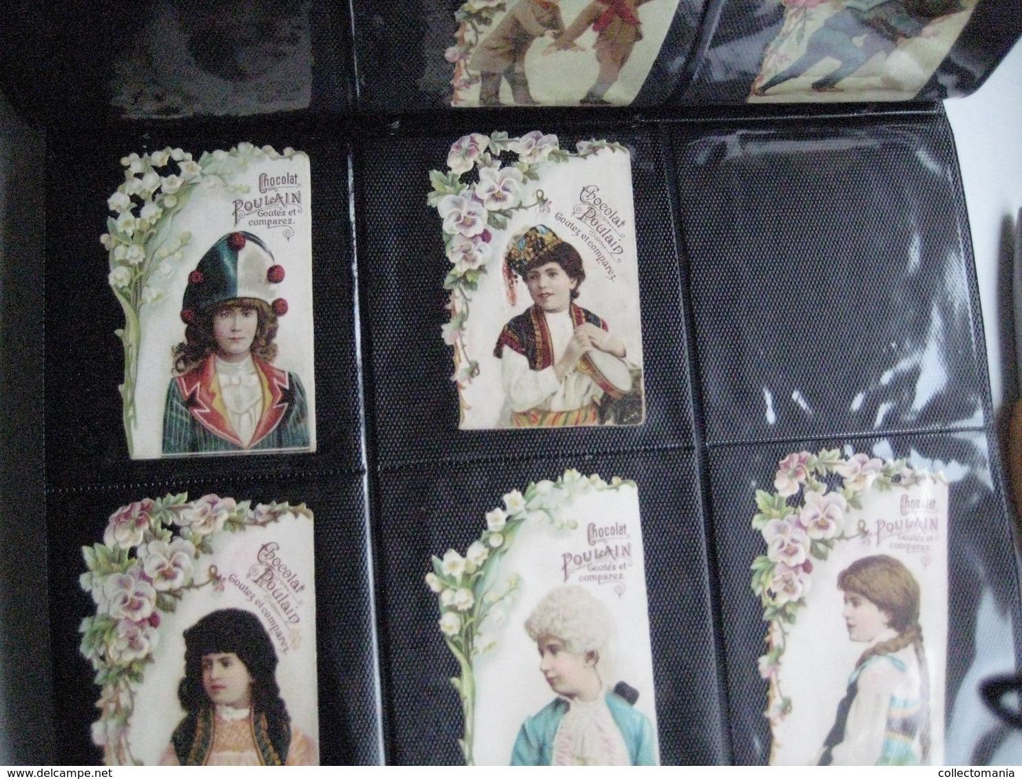 SCRAPS Van Vóór 1900, Alle Maten In 19 Mappen +7 Mappen RECLAME 20cmX15cm +10 Albums De Collection 1880 à 1890 Relief - Sonstige