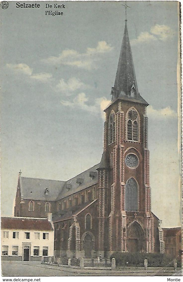Selzaete - De Kerk - L'Eglise (in Kleur!) - Zelzate