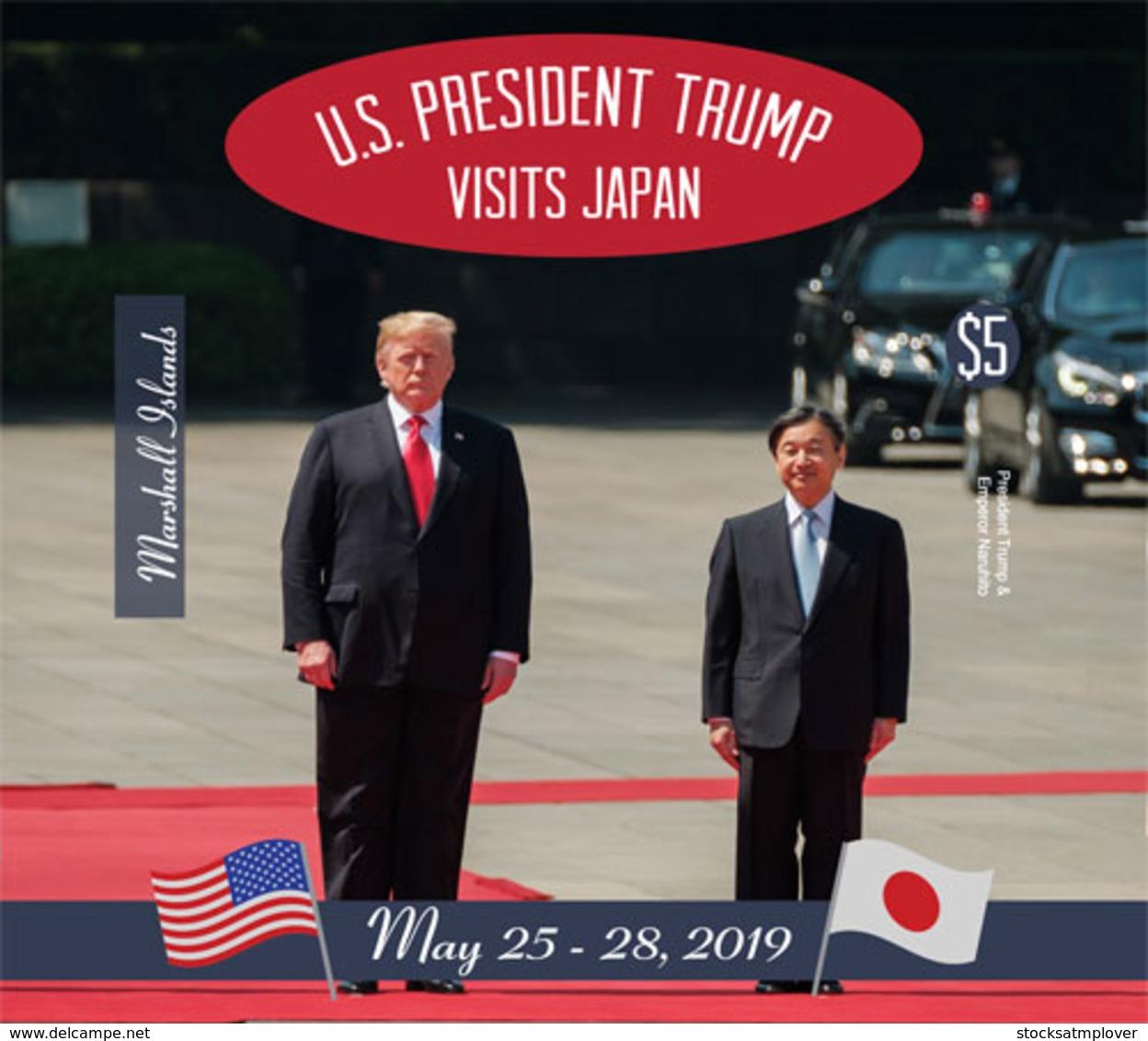 Marshall Islands  2019 U.S.PRESIDENT TRUMP VISITS JAPAN  I202001 - Marshall Islands