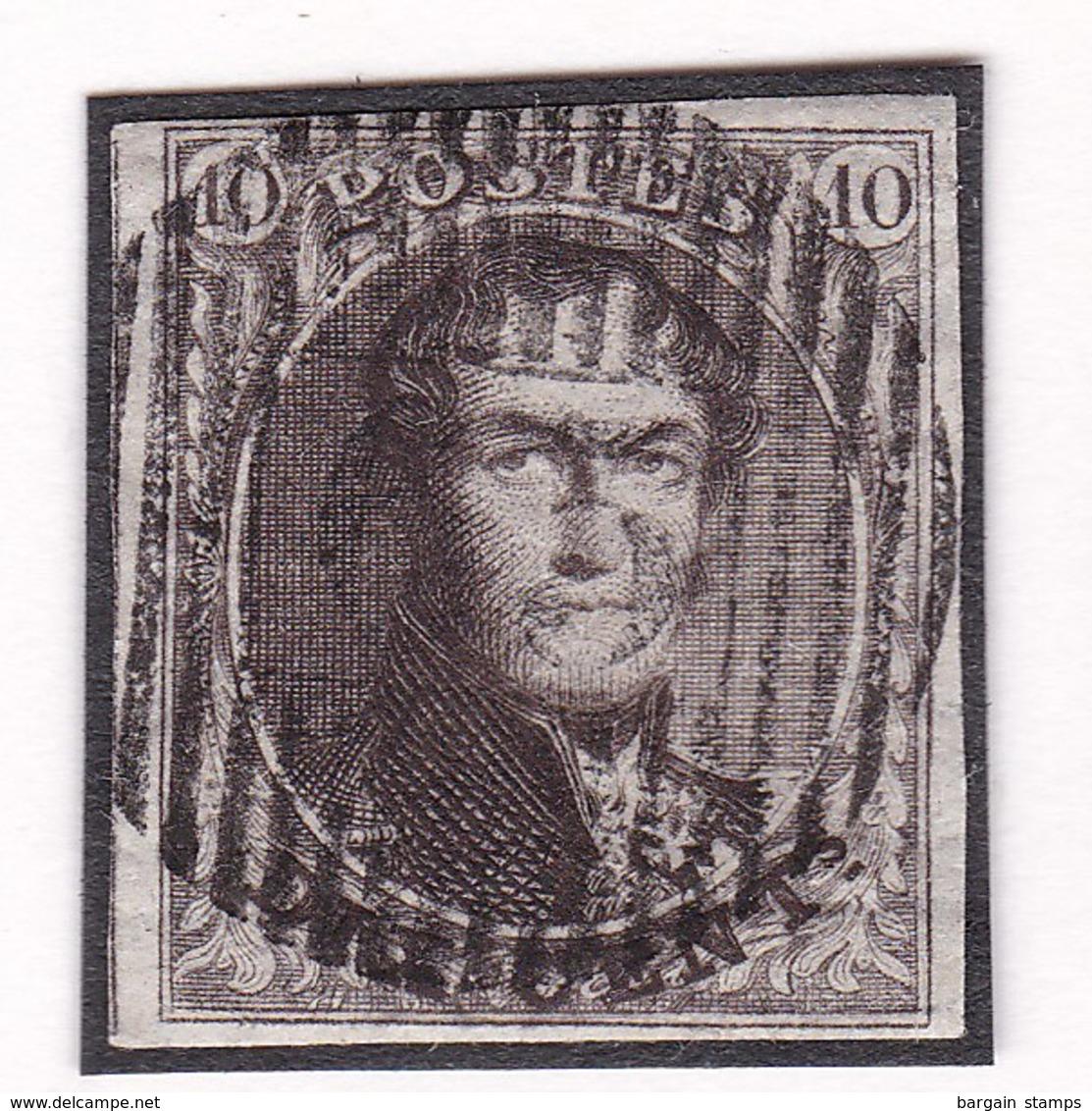 Belgique - COB 3 Obl D 65 - Warnant-Dreye - 1849-1850 Médaillons (3/5)