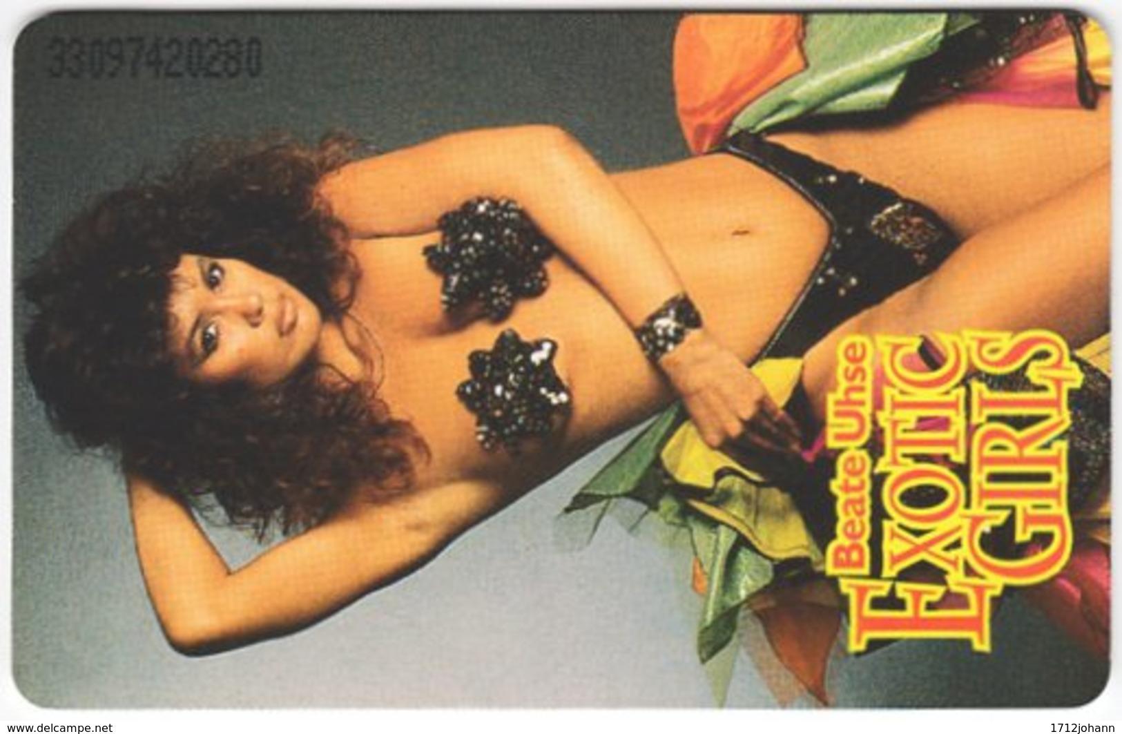 GERMANY O-Serie B-704 - 324F 09.93 - Woman, Erotic, Beate Uhse - Used - Deutschland