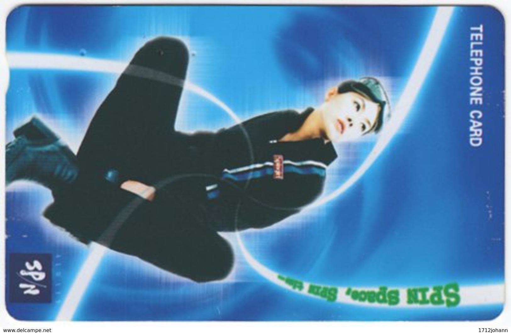 SOUTH KOREA B-202 Magnetic Telecom - People, Woman - Used - Korea (Süd)