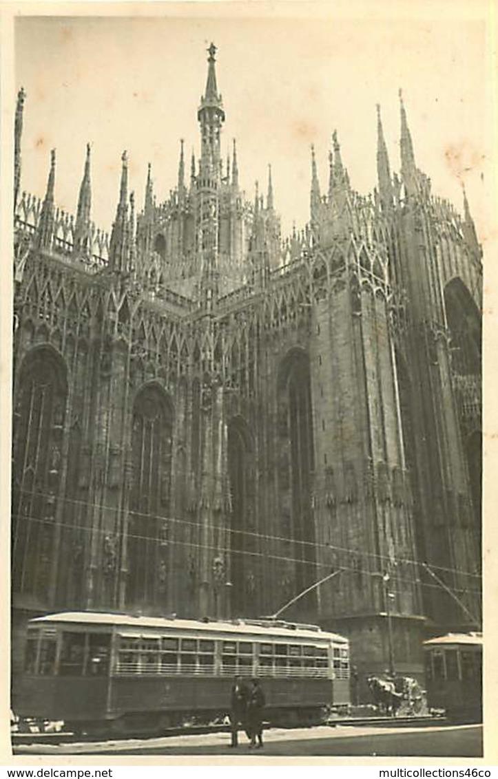 110320B - PHOTO Circa 1930 - ITALIE MILAN Cathédrale Tramway - Milano