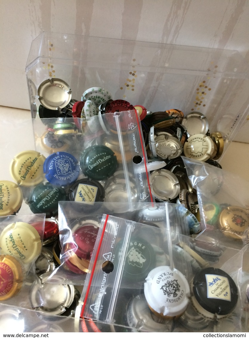 Lot,Collections-Capsules-Champagne-bière-cidre-Autres-photos-(attention Il Y A Des Doublons) Envoie Colissimo Uniquement - Champagne