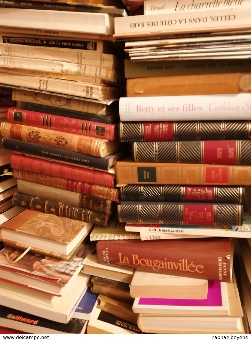 Gros Lots De Livres Revues Journaux Magazines Bande Dessinées Par Lots De 1000 - Wholesale, Bulk Lots