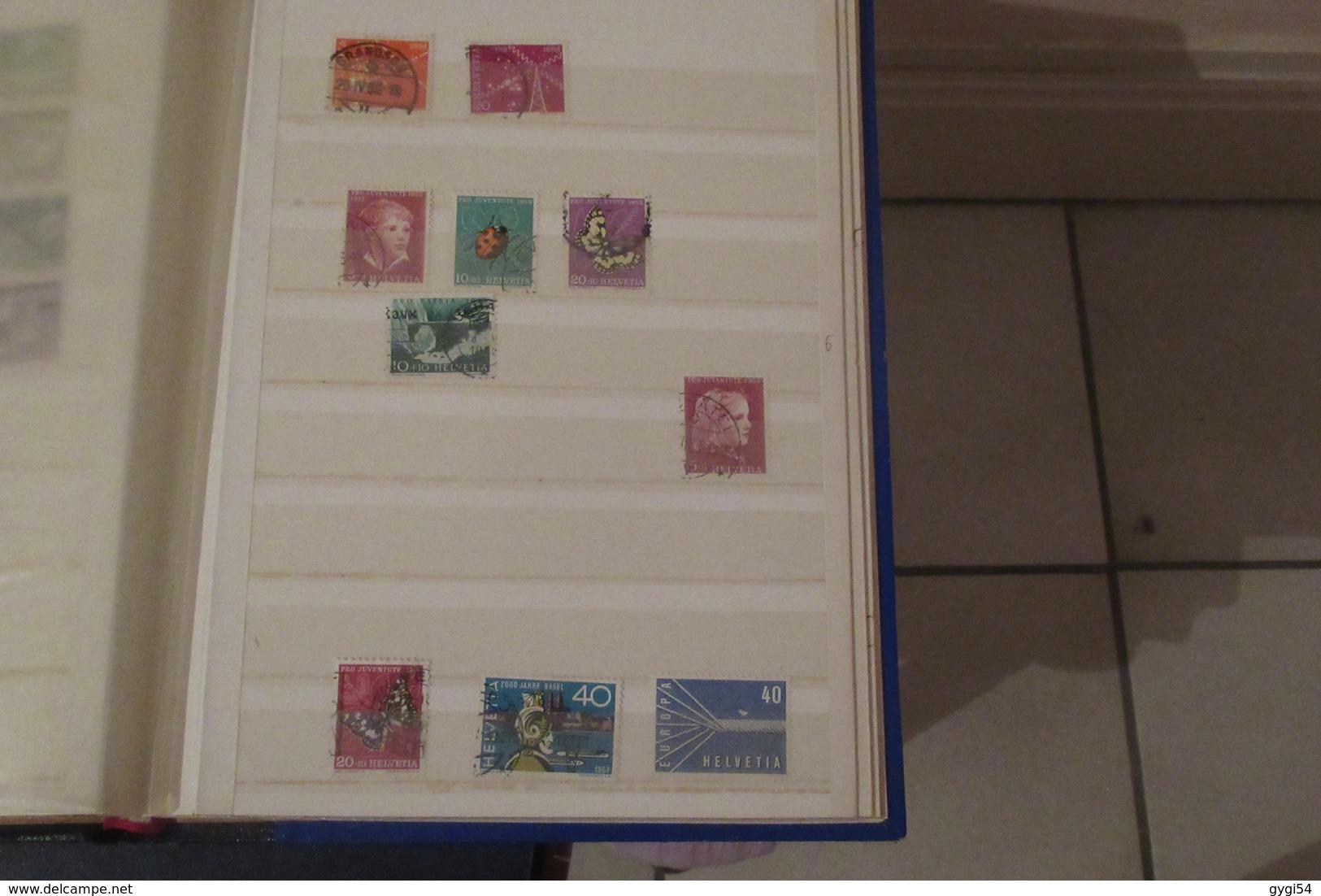 Suisse  Origines 1952 19 Scans  Poste ,poste Aérienne , Taxe - Stamps