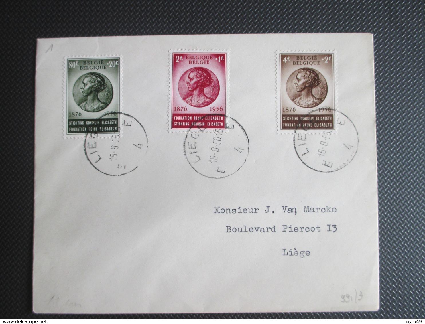 991/93 - Kon. Elysabeth - Brief Verstuurd Binnen Liège - Brieven En Documenten
