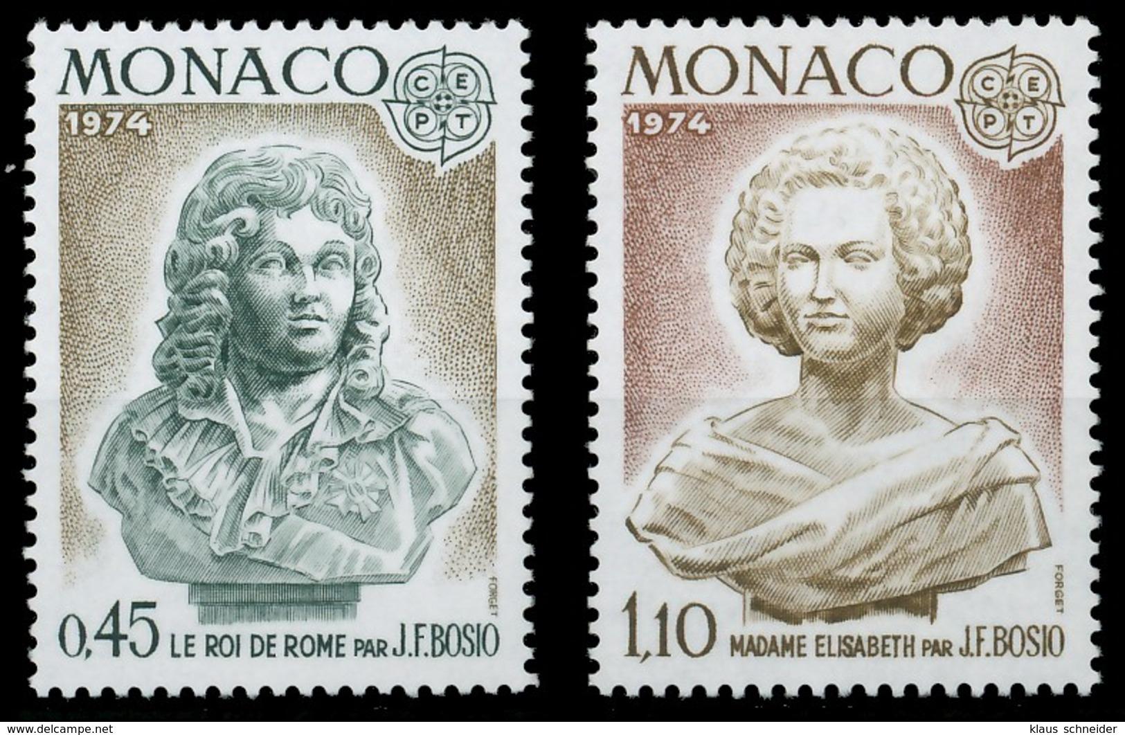 MONACO 1974 Nr 1114-1115 Postfrisch SAC3196 - Monaco