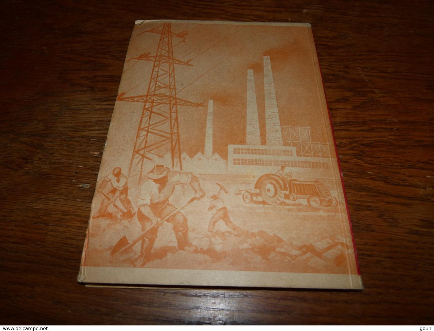 Petletni Plan 1947 Razvoja Narodnega Gospodarstva Federativne Ljudske Republike Jugoslavije V Letin 1947-1951 - Livres, BD, Revues