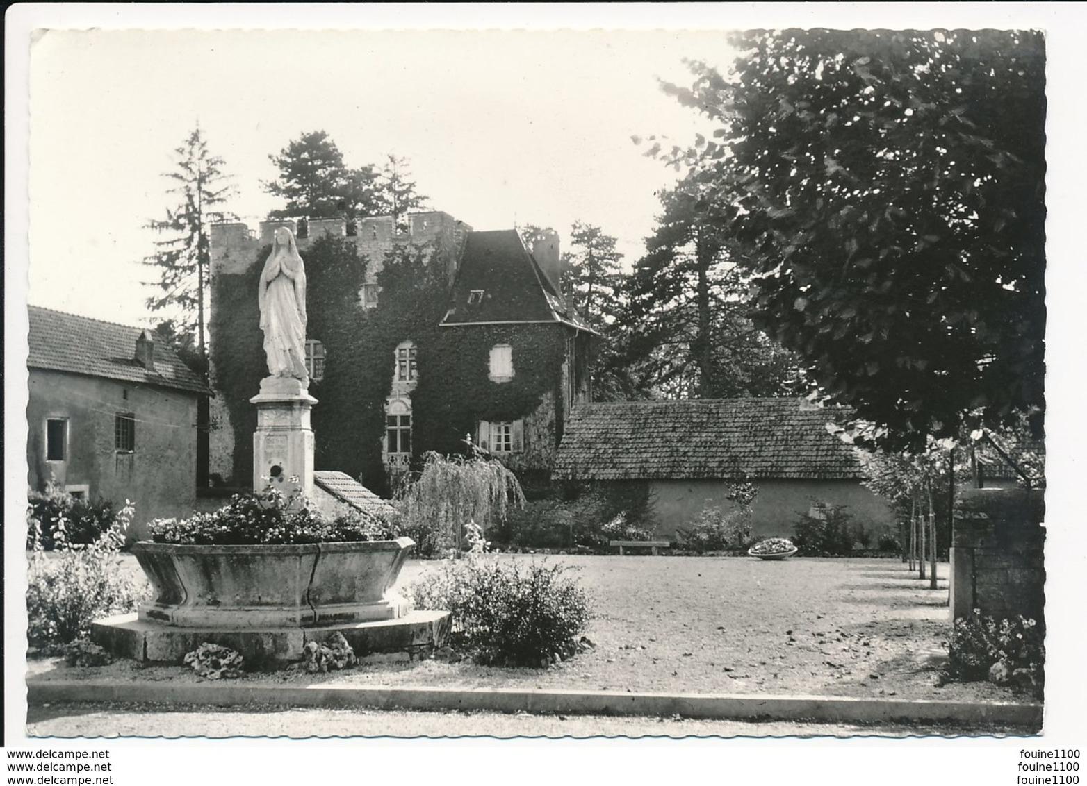 Carte ( Format 15 X 10 Cm ) De Montagney Statue De La Vierge Village Fleuri 1966 ( Peu Courante ) ( Recto Verso ) - Sonstige Gemeinden