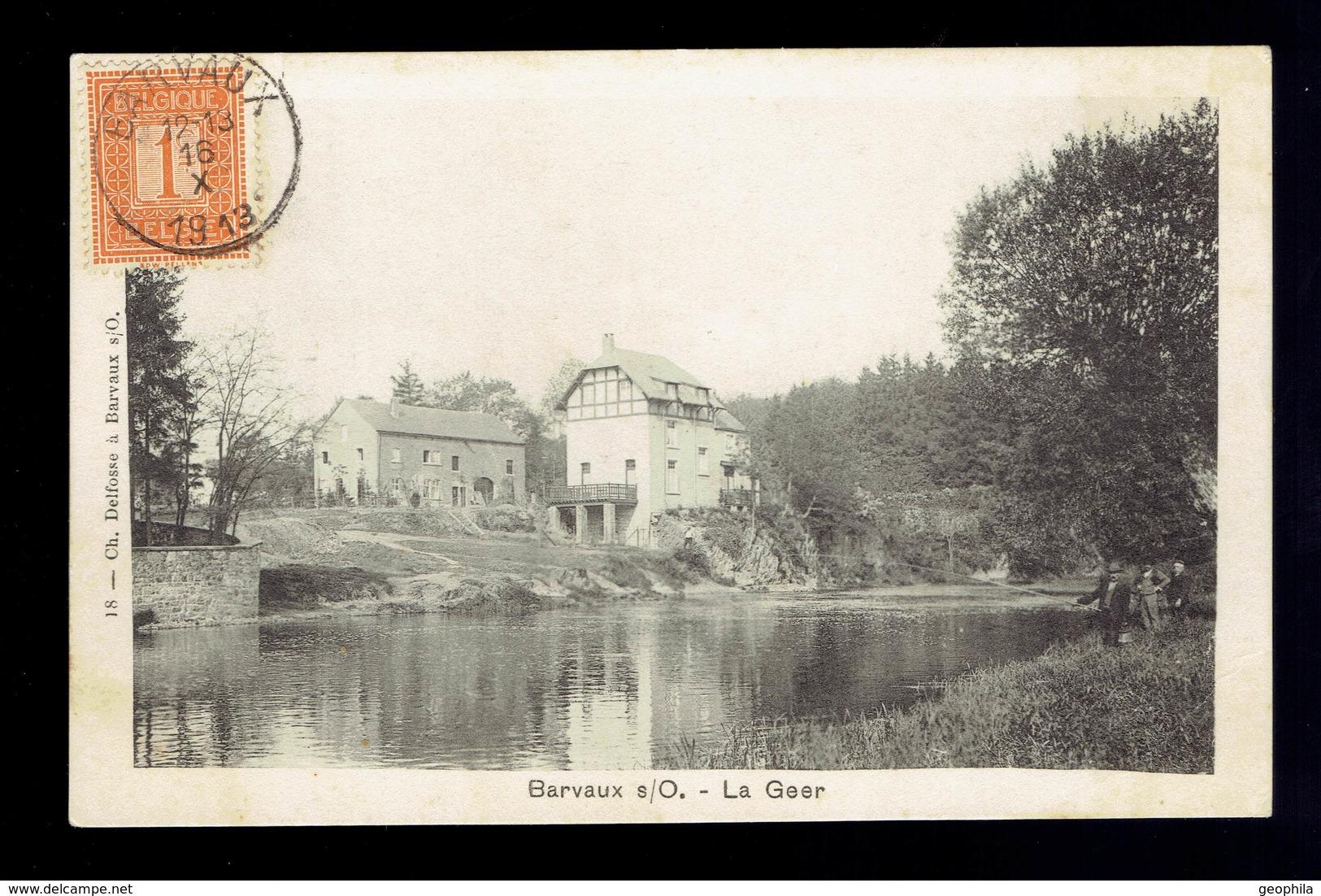 Barvaux S/Ourthe La Geer - Belgique