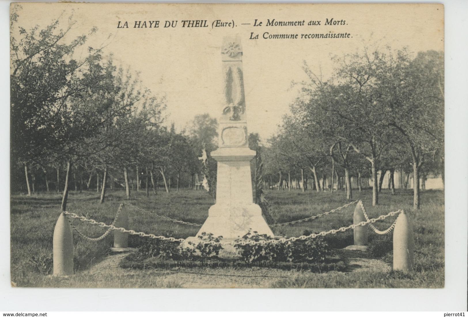LA HAYE DU THEIL - Le Monument Aux Morts - France