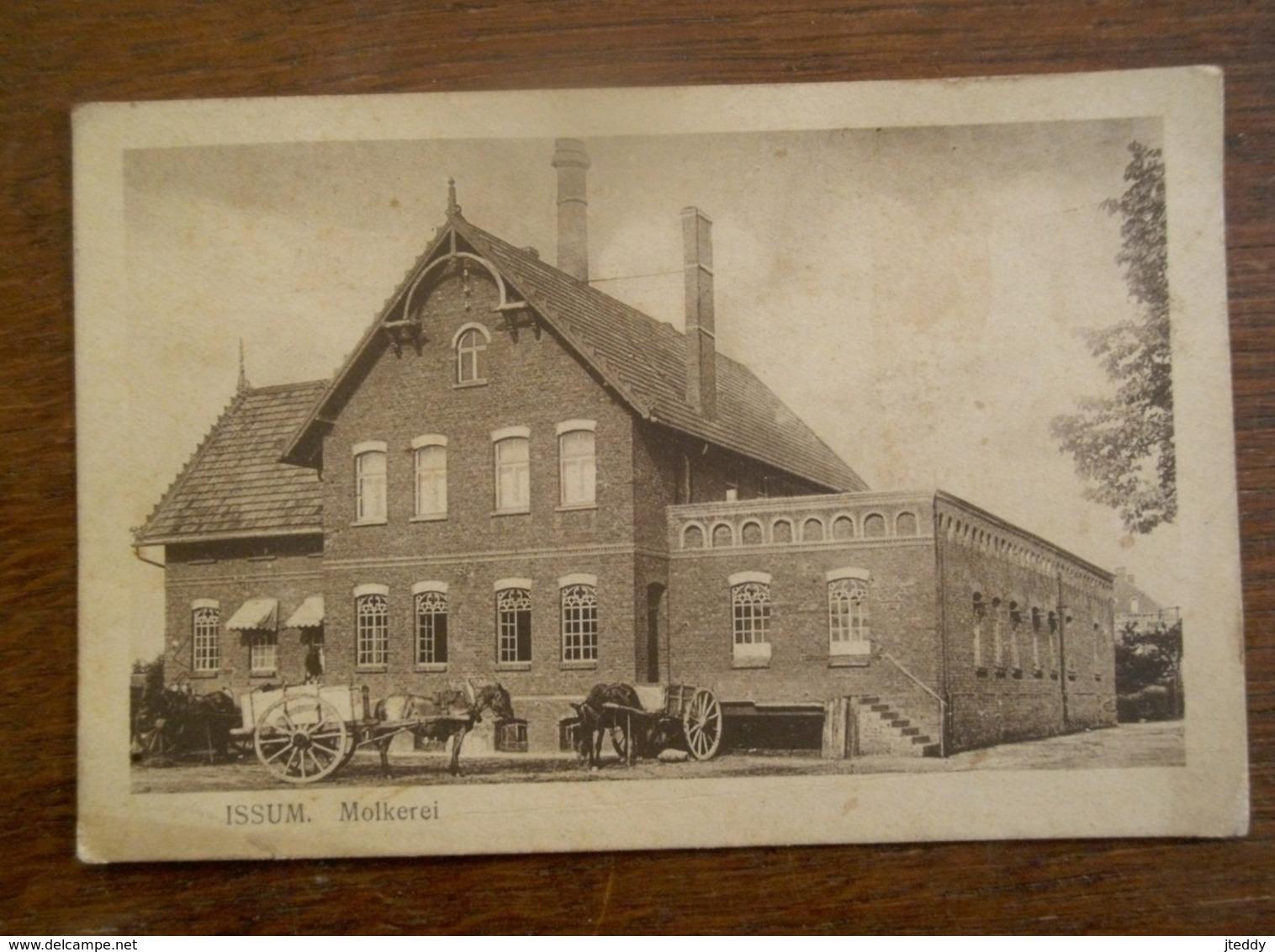 Oude Postkaart  1919 Duitsland   Molkerei  ISSUM - Allemagne