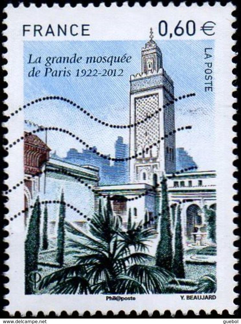 France Oblitération Moderne N° 4634 ** La Grande Mosquée De Paris - Gebraucht
