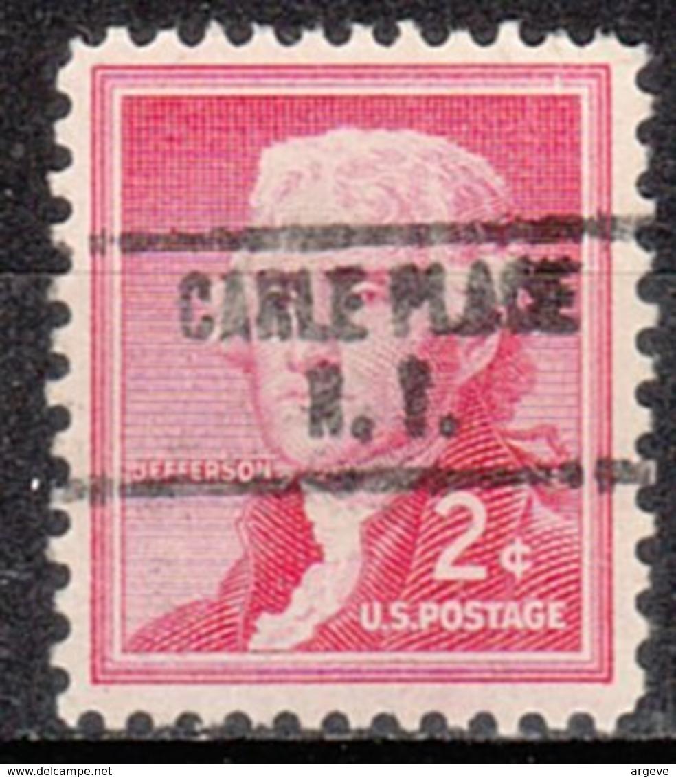 USA Precancel Vorausentwertung Preo, Locals New York, Carle Place 734 - Vereinigte Staaten