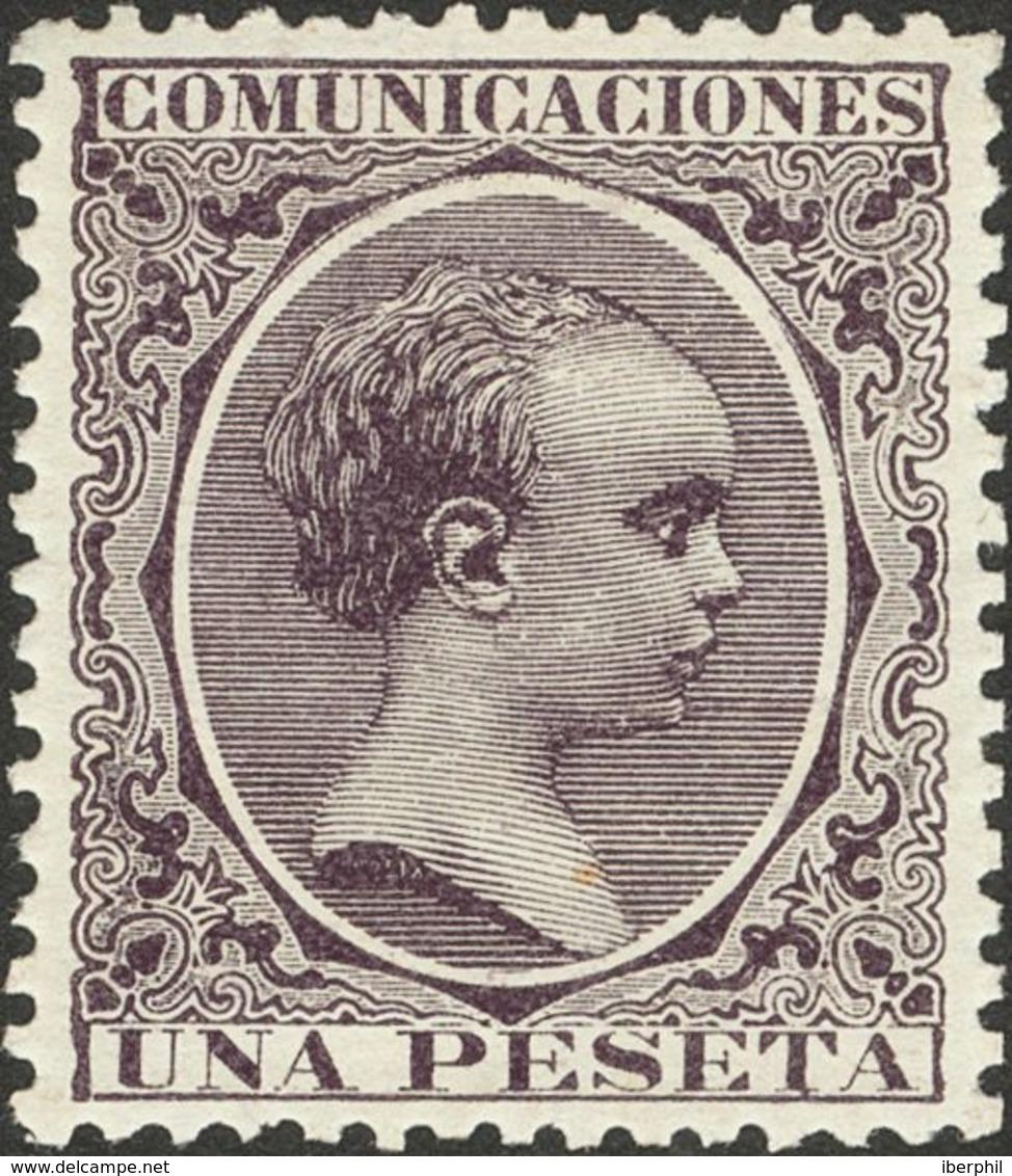 1 Pts Violeta. PIEZA DE LUJO. - Espagne