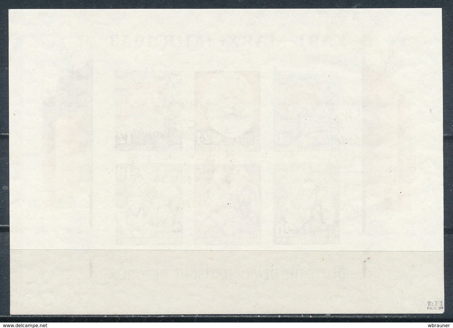 DDR Block 8/9 A/B Gestempelt Geprüft Paul Mi. 660,- - Used Stamps