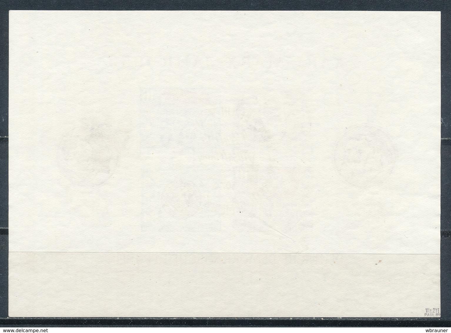 DDR Block 8/9 A/B Gestempelt Geprüft Paul Mi. 660,- - DDR