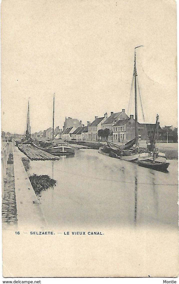Selzaete - Le Vieux Canal. - Zelzate