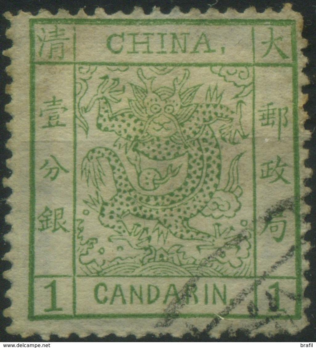 1878 Cina , 1 Candarin Usato , Buone Condizioni - Cina
