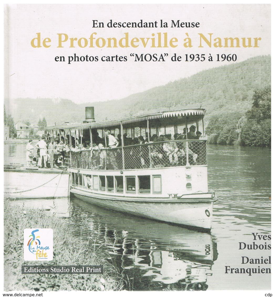 De Profondeville à Namur   Cartes Mosa - Belgique