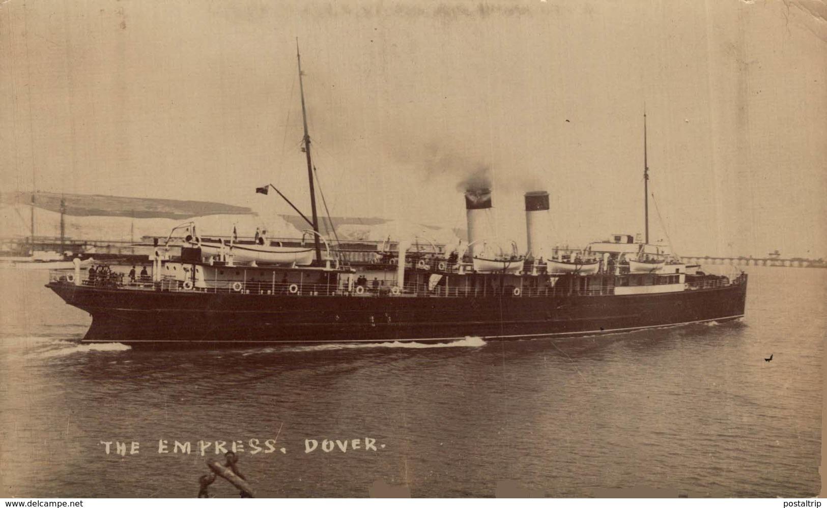 The Empress Dover.  Carguero. Cargo Ship. Naviere Cargo - Comercio