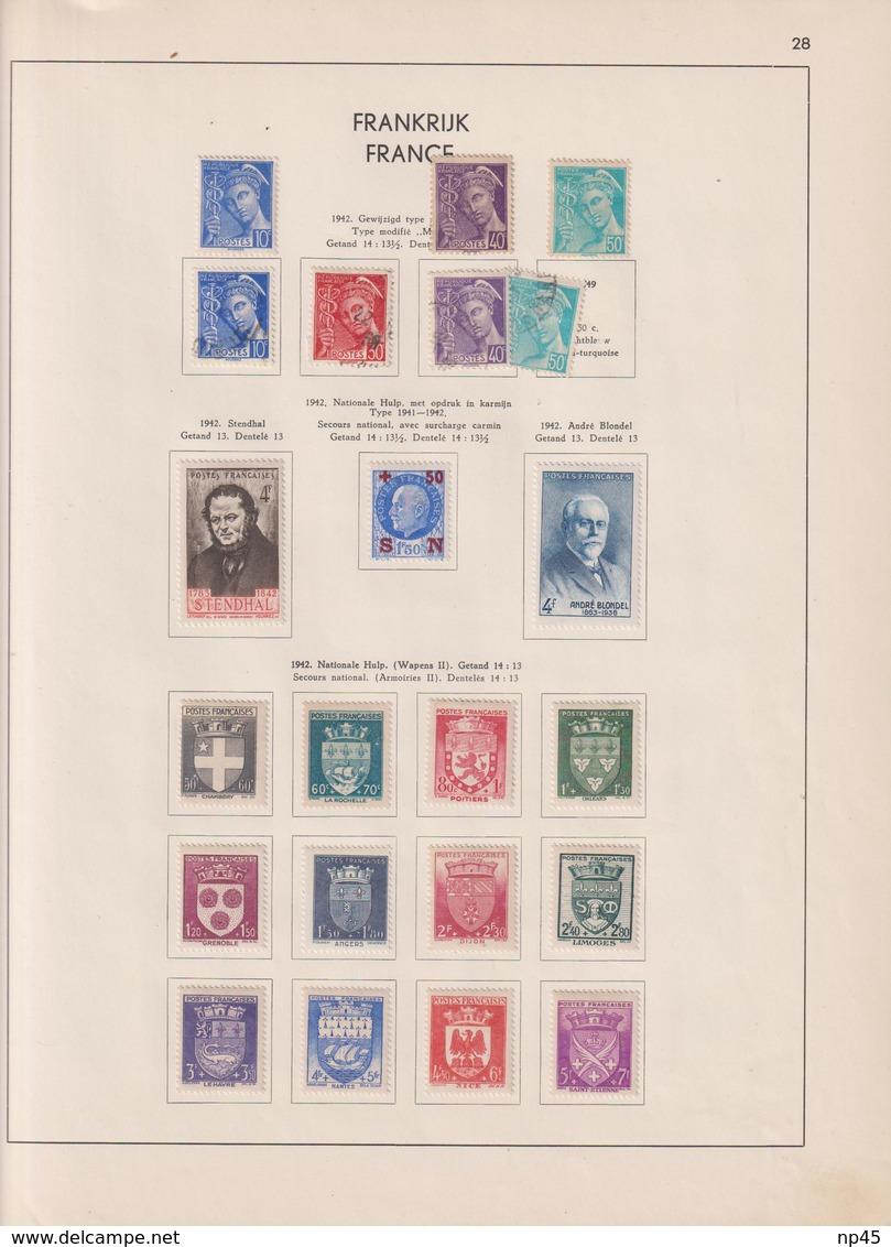 FRANCE PETITE  COLLECTION A PARTIR DE 1900 - France