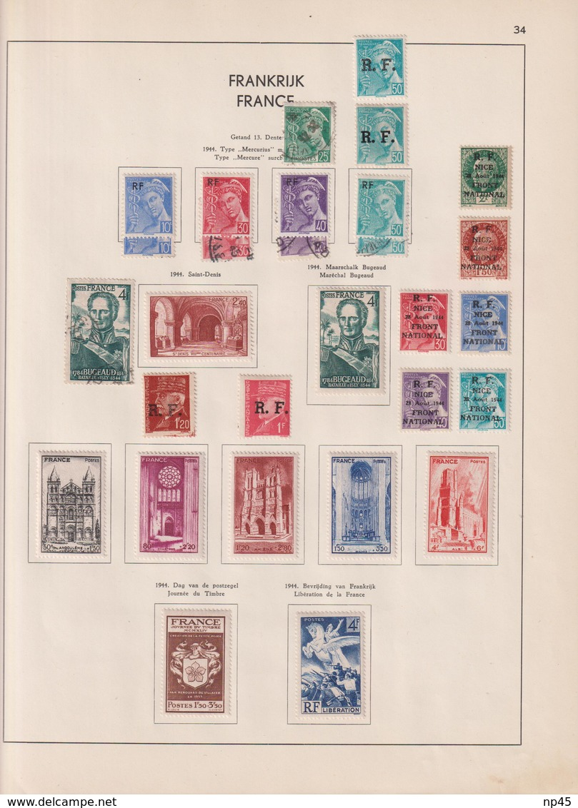 FRANCE PETITE  COLLECTION A PARTIR DE 1900 - Collections