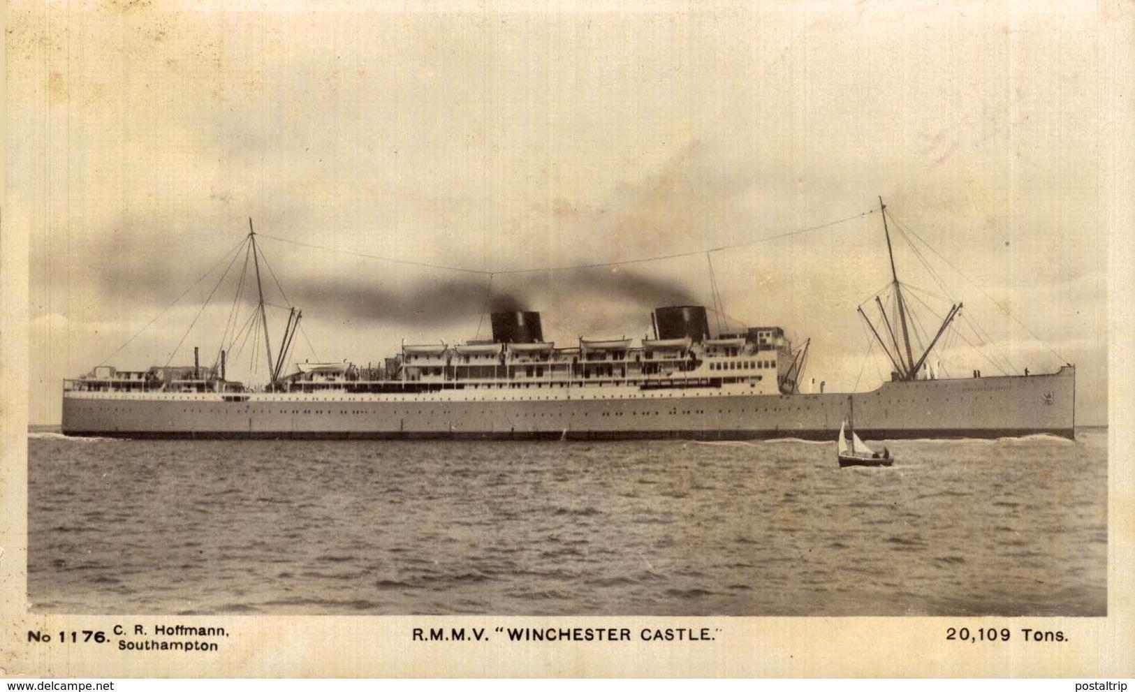 "R.M.M.V. ""Winchester Castle""  Carguero. Cargo Ship. Naviere Cargo - Comercio"