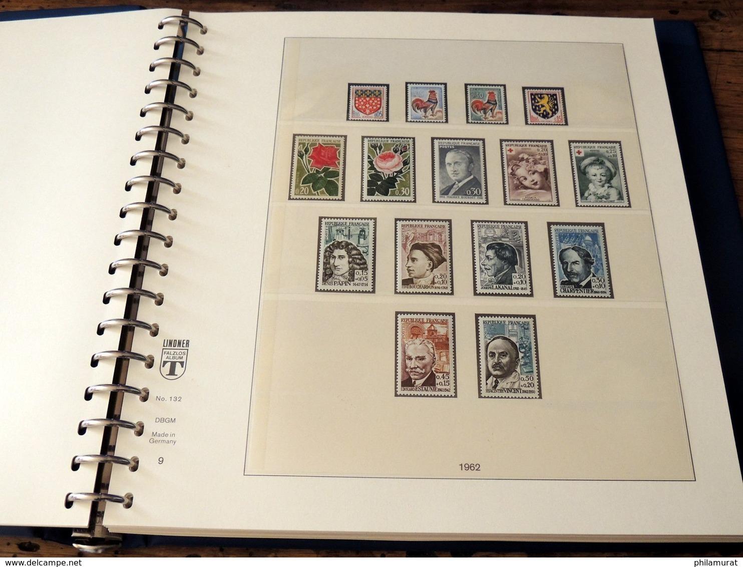 France 1960/1969 Collection Complète Neufs ** Poste + Annexes COTE +500 € - France