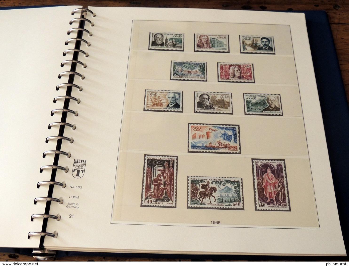 France 1960/1969 Collection Complète Neufs ** Poste + Annexes COTE +500 € - Collections