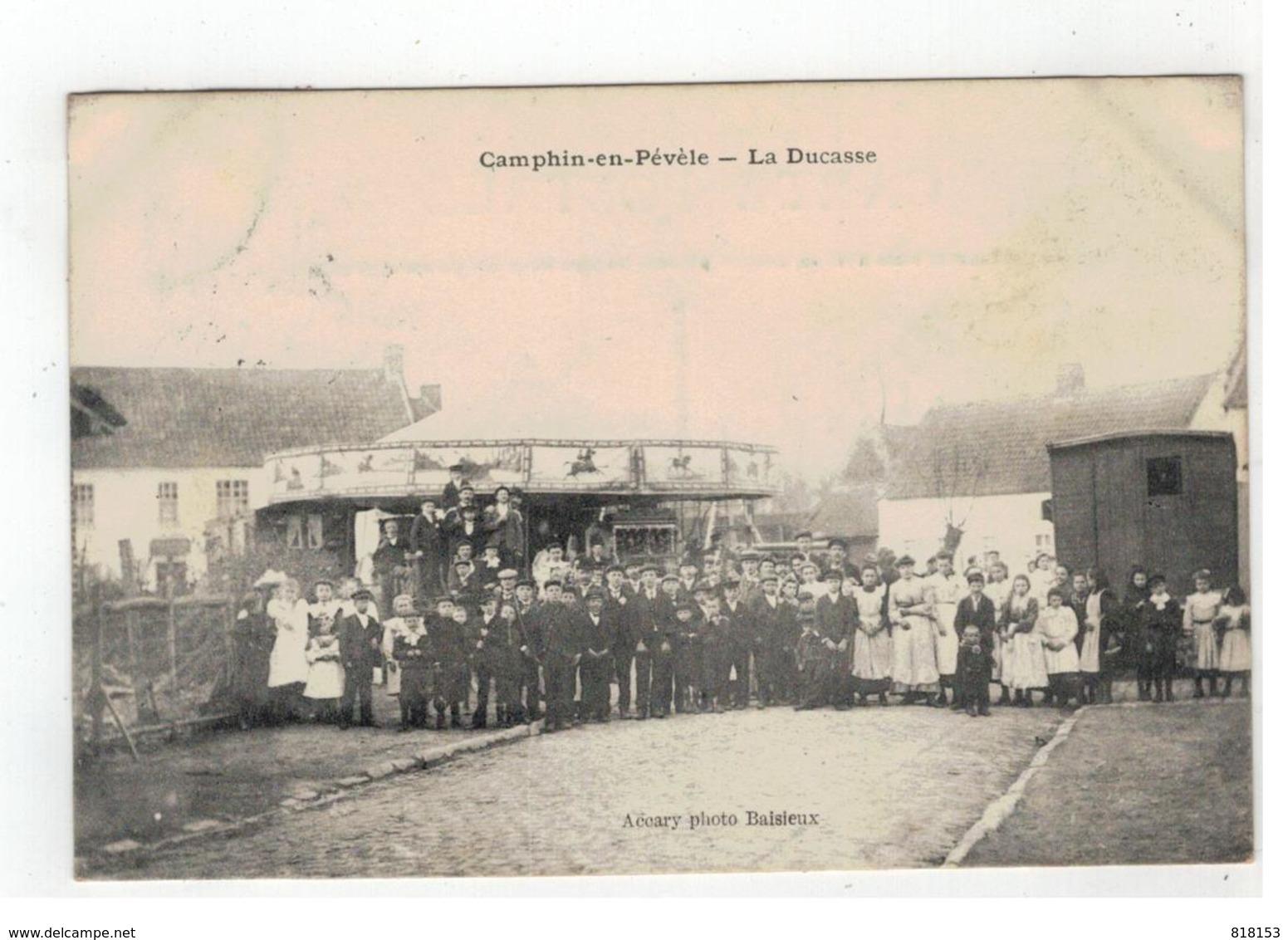 Camphin-en-Pévèle  -  La Ducasse   1911 - France