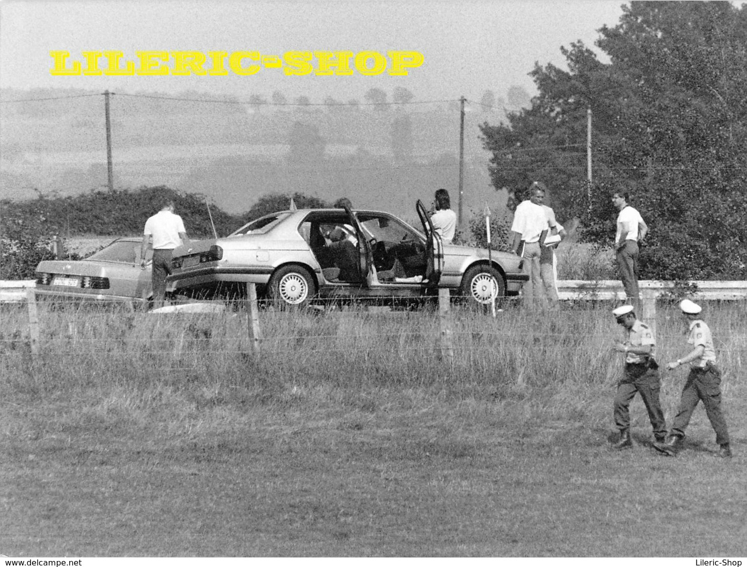 7 Silberdrucke Von LYNX Press  Geiselnahme Nach Dem Angriff Auf Eine Bank In GLADBECK 08/1988 - Rabatt - 50% ↘ ↪18 09 ! - Photographs