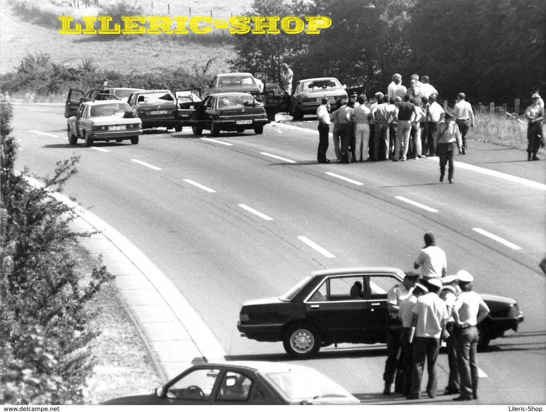 7 Silberdrucke Von LYNX Press  Geiselnahme Nach Dem Angriff Auf Eine Bank In GLADBECK 08/1988 - Rabatt - 50% ↘ ↪18 09 ! - Fotos