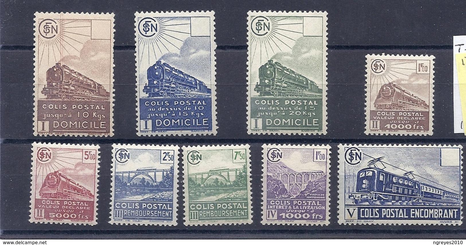 190032836  FRANCIA  YVERT  T.P.C.P. Nº  174/82  **/MNH - Newspapers