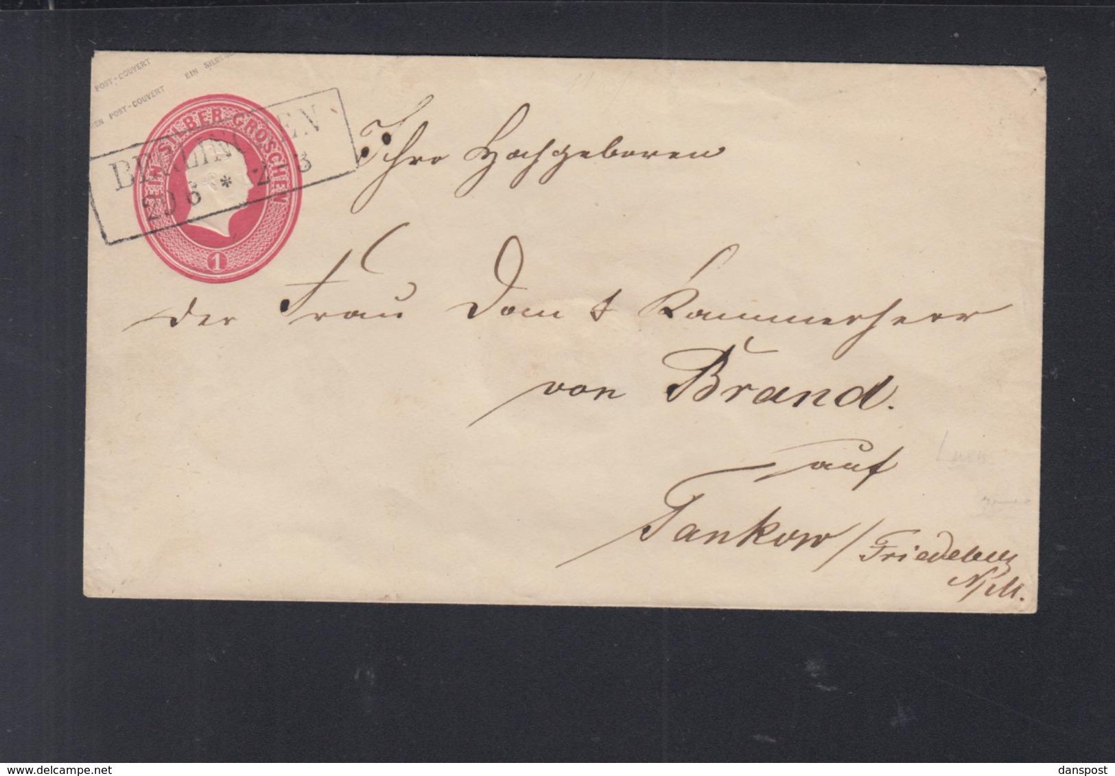 Umschlag Berlin Nach Pankow - Preussen