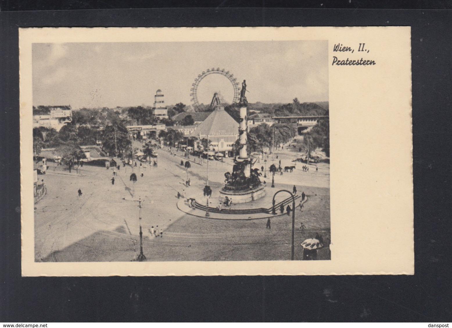 Österreich AK Wien Prater Sonderstempel 1941 - 1918-1945 1. Republik