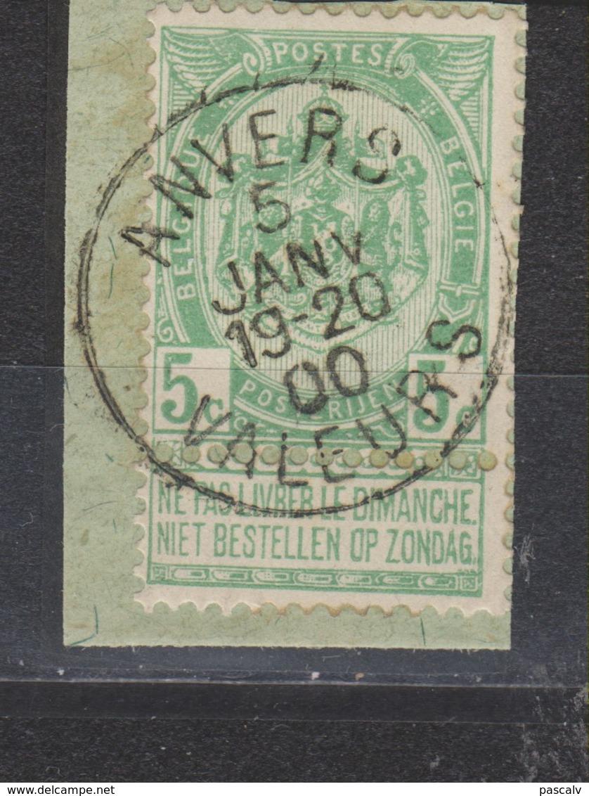 COB 56 Oblitération Centrale ANVERS Valeurs - 1893-1907 Wappen