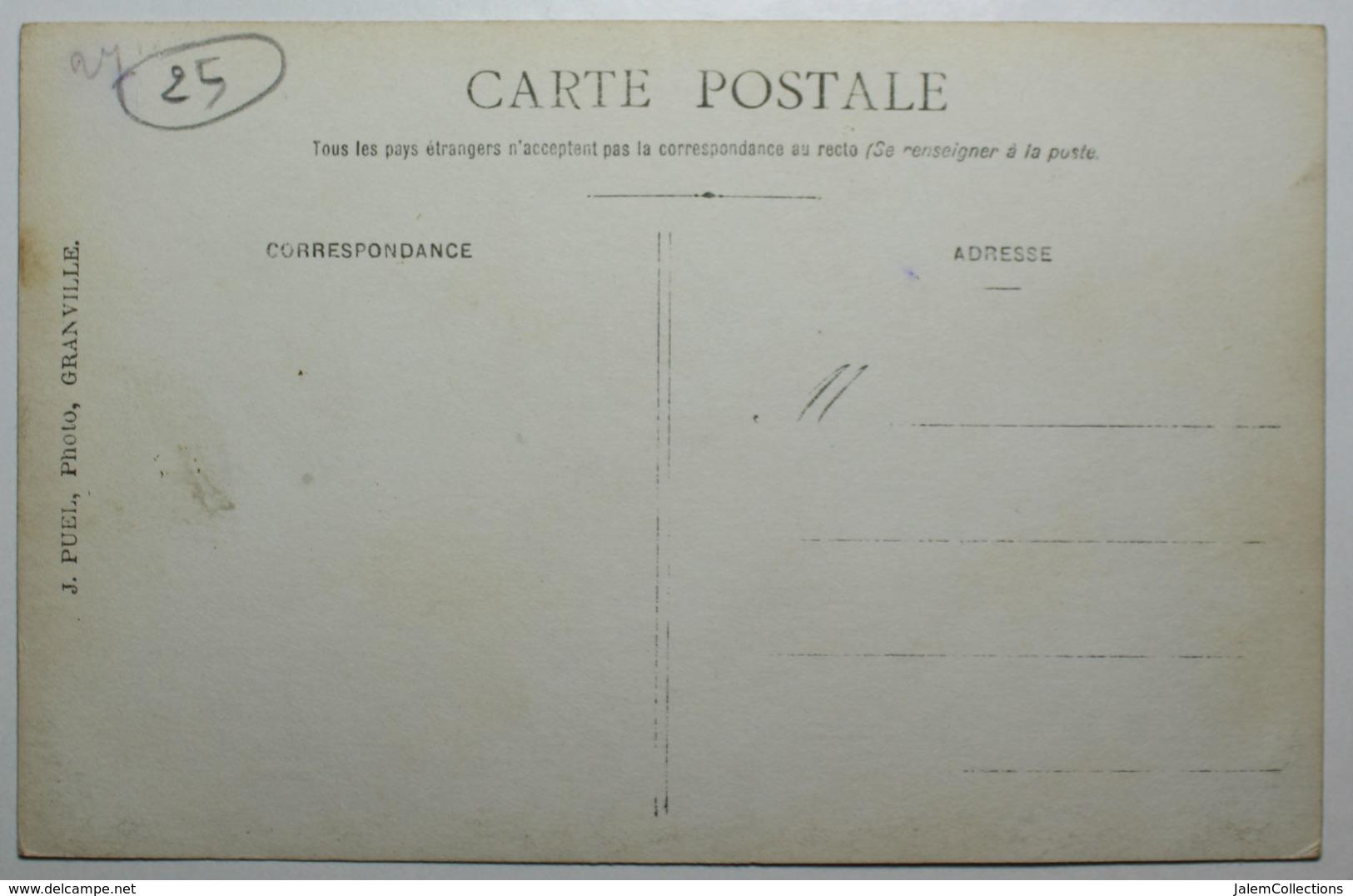 GRANVILLE - Lot De 5 Cartes Photos - MILITARIA - Granville